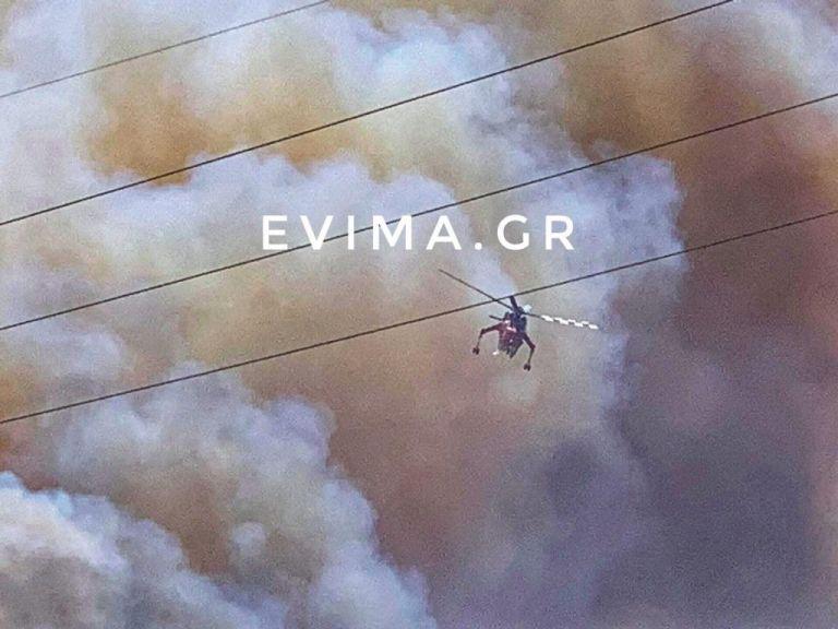 Ανεξέλεγκτη η φωτιά στην Κάρυστο – Εκκενώθηκε προληπτικά οικισμός   tovima.gr