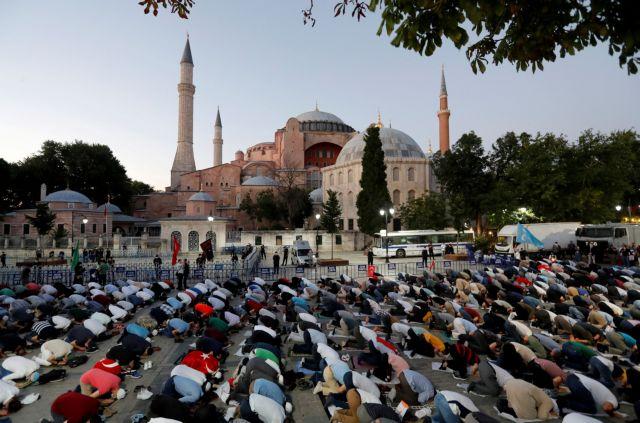 Οργιάζει ο τουρκικός Τύπος για την Αγία Σοφία | tovima.gr