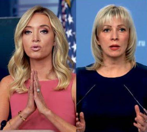 Κέιλι ΜακΕνάνι, Μαρία Ζαχάροβα: Δύο δυναμικές γυναίκες στην παγκόσμια πολιτική σκακιέρα | tovima.gr