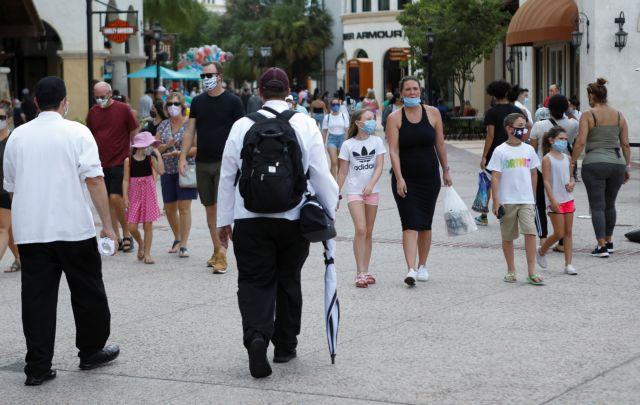 Κορωνοϊός: Ρεκόρ ημερήσιων κρουσμάτων στη Φλόριντα | tovima.gr