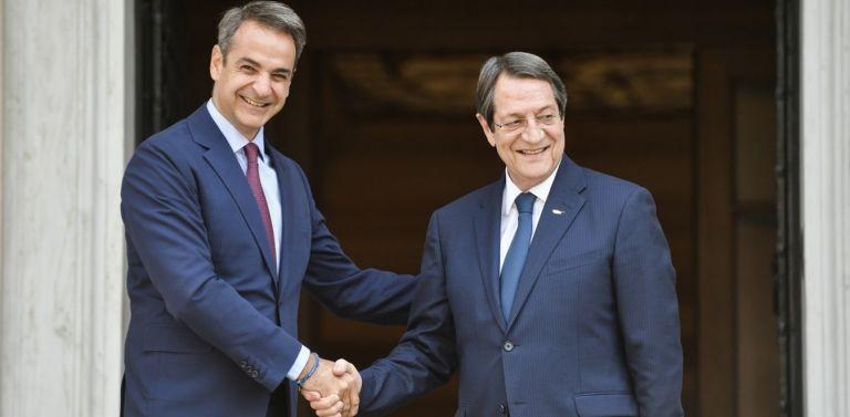 Μέγαρο Μαξίμου: Ο Αναστασιάδης συναντά τον Μητσοτάκη για τις τουρκικές προκλήσεις | tovima.gr