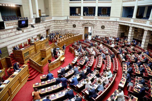 Ενταση στην Ολομέλεια για την παραπομπή Παπαγγελόπουλου   tovima.gr
