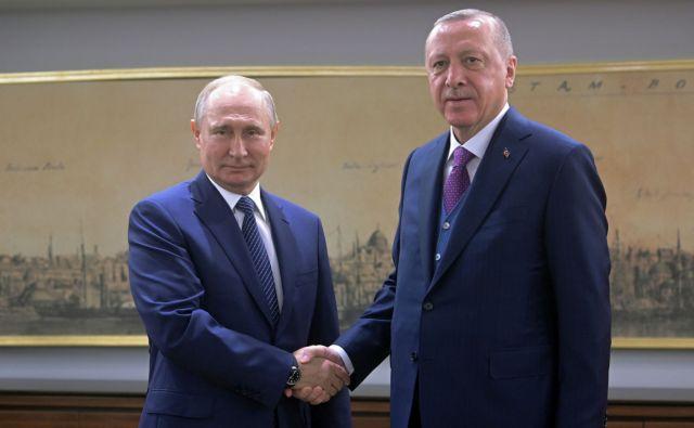 Τηλεφωνική επικοινωνία Πούτιν – Ερντογάν | tovima.gr