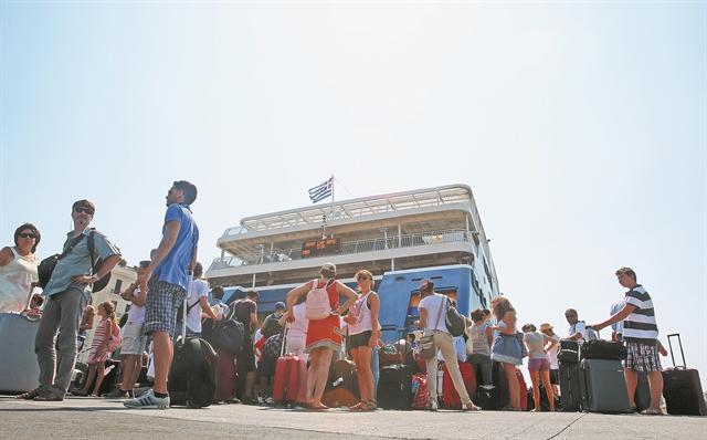 Ακτοπλοΐα : Στην αναμονή για αύξηση των επιβατών στο 85% | tovima.gr