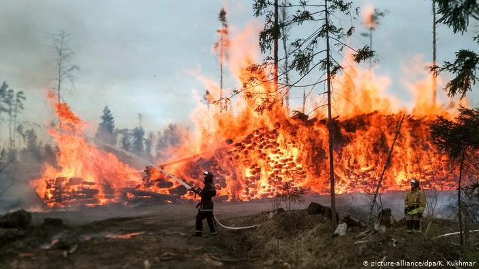 Μεγάλη φωτιά στην Επίδαυρο – επί ποδός η πυροσβεστική | tovima.gr