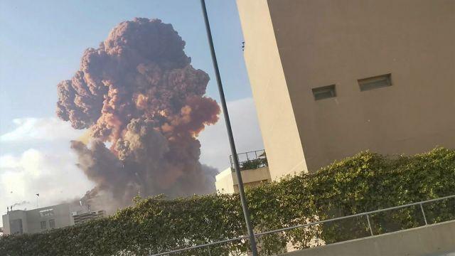 Λίβανος:Εκρήξεις συγκλόνισαν τη Βηρυττό – Τουλάχιστον 10 νεκροί | tovima.gr