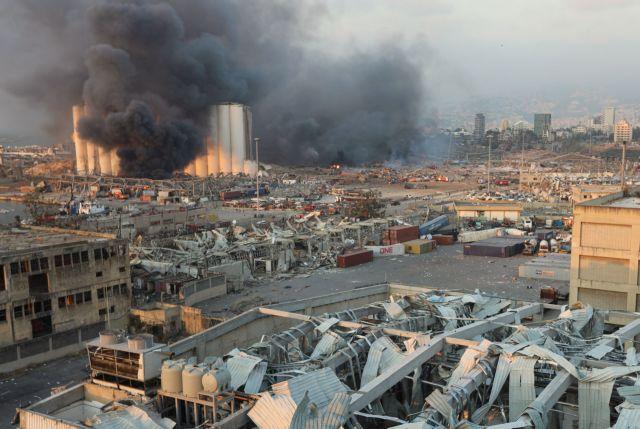 Εκρηξη στη Βηρυτό : Πέντε οι Έλληνες τραυματίες, δύο σε σοβαρή κατάσταση | tovima.gr