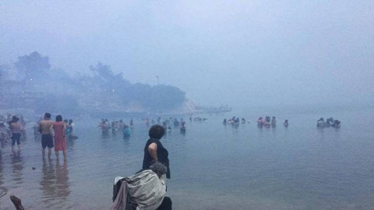 Μόνοι μας στείλαμε βοήθεια στο Μάτι, όταν μάθαμε ότι ο κόσμος ήταν στην θάλασσα   tovima.gr
