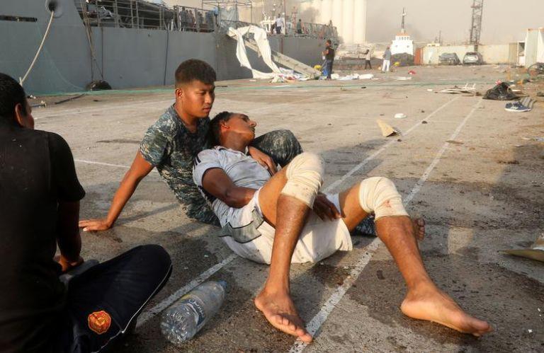 Βηρυτός : Η καταστροφή μέσα από εικόνες που σοκάρουν | tovima.gr