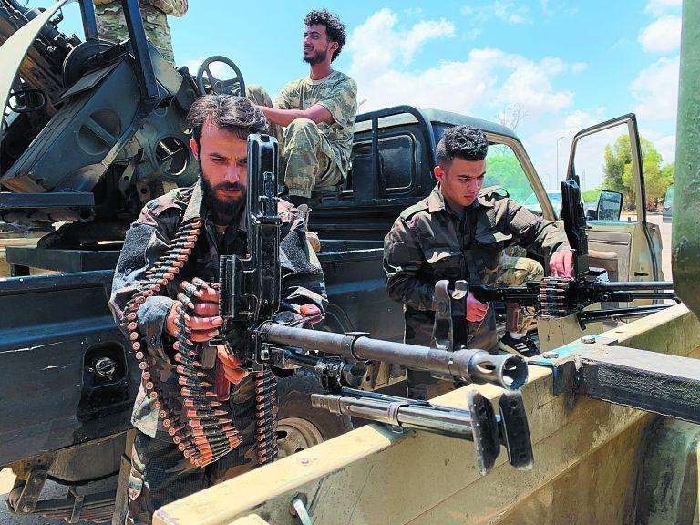 Λιβύη : «Ακονίζουν τα μαχαίρια» Αίγυπτος και Τουρκία | tovima.gr