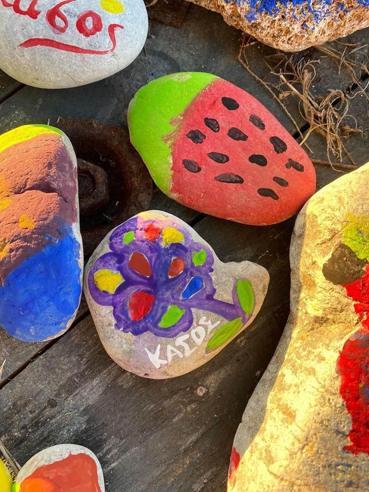 «Οι μικροί Πικάσο από την Κάσο»ζωγραφίζουν για καλό σκοπό | tovima.gr