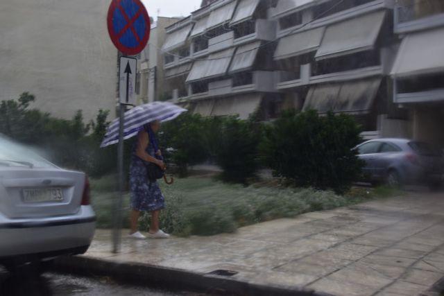 Καιρός : Βροχοπτώσεις στην Αττική έφερε η «Θάλεια» | tovima.gr