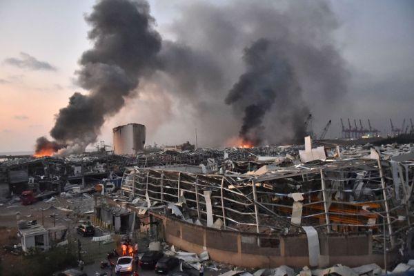 Βηρυτός : Περισσότεροι από 60 άνθρωποι συνεχίζουν να αγνούνται   tovima.gr