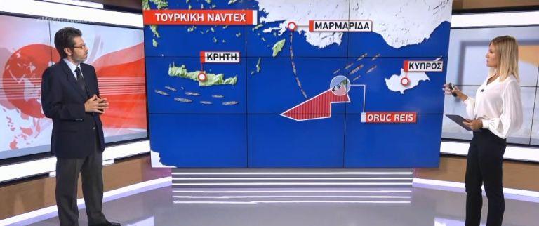 Α. Αθανασόπουλος στο MEGA: Είναι σαφές πως αυτή τη φορά η Τουρκία δε θα σταματήσει εδώ | tovima.gr