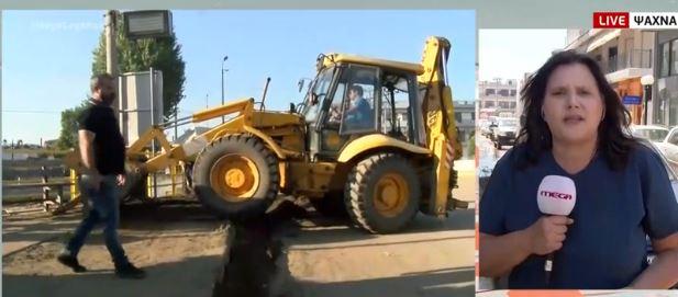 Το MEGA στα Ψαχνά Ευβοίας: Ξεκίνησε η καταγραφή των ζημιών – Έλεγχοι στα κτίρια | tovima.gr