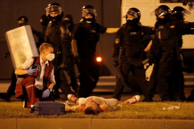 Λευκορωσία: Αγρια καταστολή των διαδηλώσεων με χρήση πραγματικών πυρών | tovima.gr