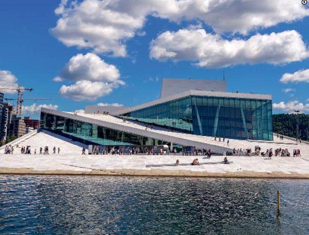 Oslo Opera House: Μουσική & design σε ένα… παγόβουνο | tovima.gr