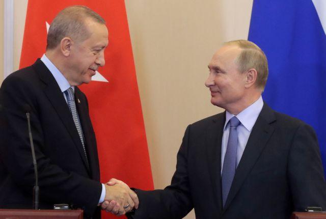 Συνομιλία Πούτιν – Ερντογάν για την Αν. Μεσόγειο | tovima.gr