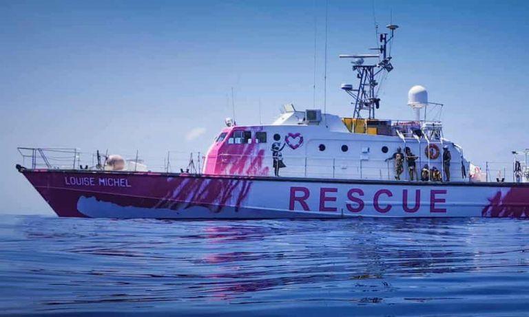 Ο Βanksy χρηματοδότησε -και ζωγράφισε- σκάφος για τη διάσωση προσφύγων στη Μεσόγειο | tovima.gr