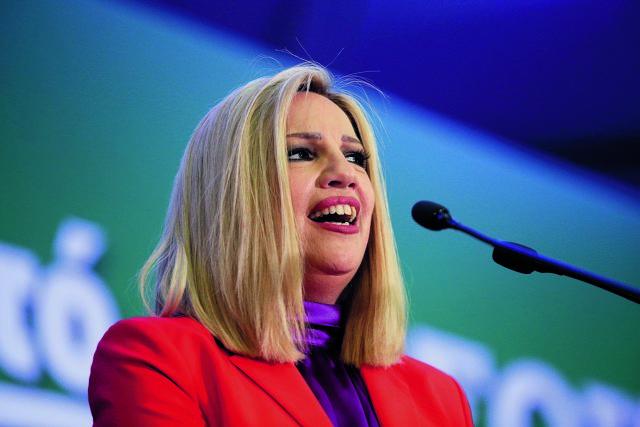 Γεννηματά : Η ΝΔ εφαρμόζει το δόγμα «μισός μισθός-μισή δουλειά»   tovima.gr