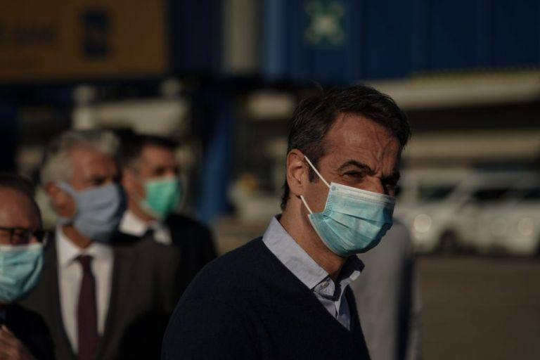 Μητσοτάκης στη Θεσσαλονίκη: Τι σχολίασε όταν τους είδε όλους με μάσκα   tovima.gr
