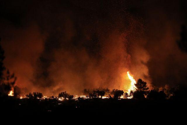 Κεφαλονιά: Μεγάλη πυρκαγιά στην περιοχή Αννινάτα | tovima.gr