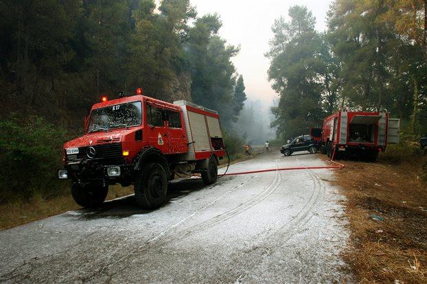 Σε πορτοκαλί συναγερμό 5 περιφέρειες – Πολύ υψηλός κίνδυνος πυρκαγιάς   tovima.gr
