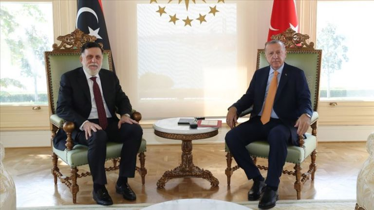 Τουρκία: Συνάντηση Ερντογάν – Σάρατζ κεκλεισμένων των θυρών | tovima.gr