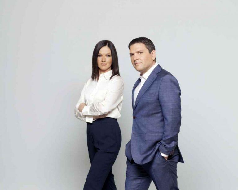 Η ενημέρωση το Σαββατοκύριακο είναι Mega με Ντίνο Σιωμόπουλο και Στέλλα Γκαντώνα | tovima.gr