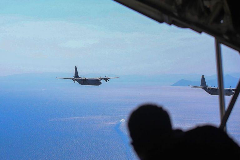 Stolen Cerberus:  Εντυπωσιακές  πτήσεις  C-130 πάνω από την Αθήνα   tovima.gr