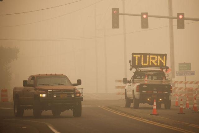 Όρεγκον: Καταστοφικές πυρκαγιές κατακαίνε τη Δυτική Ακτή των ΗΠΑ   tovima.gr