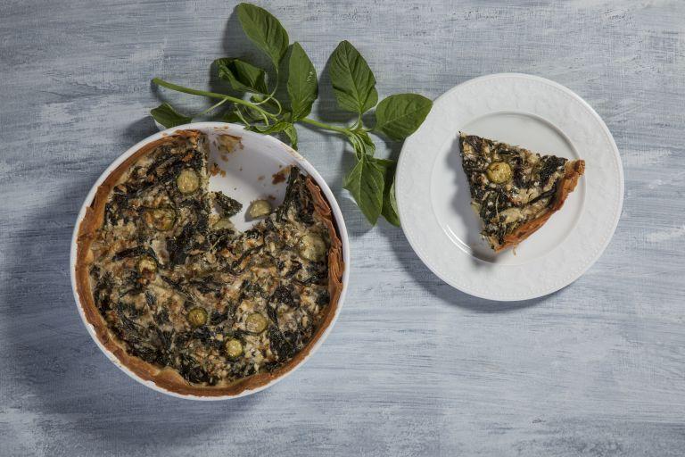Ξεσκέπαστη  πίτα με βλίτα | tovima.gr