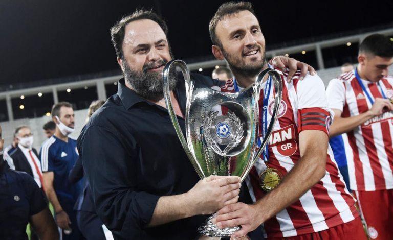 Ο Μαρινάκης επιβεβαίωσε ότι μένει ως στέλεχος του Ολυμπιακού ο Τοροσίδης | tovima.gr