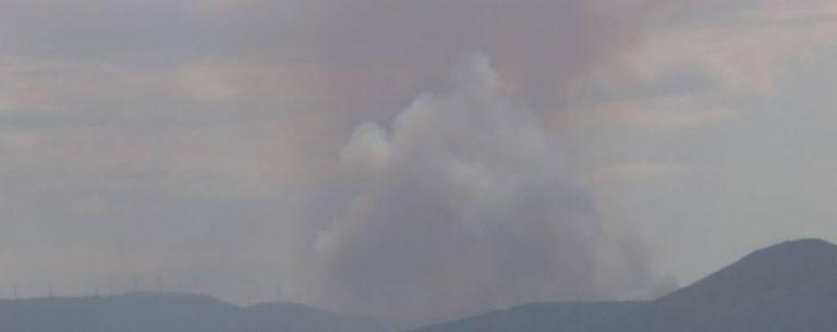 Φωτιά κοντά στο Χιλιομόδι Κορινθίας – Καίει δασική έκταση   tovima.gr