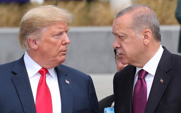 Ντ. Τραμπ για Ρ. Τ. Ερντογάν: ''Όσο χειρότερος... τόσο το καλύτερο''