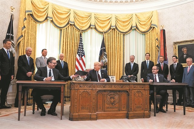 Ο «ειρηνοποιός» Τραμπ και η ημιτελής συμφωνία | tovima.gr
