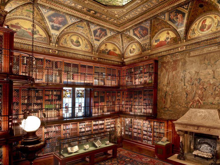 Τζ. Π. Μόργκαν: Στη βιβλιοθήκη του «Ναπολέοντος της Γουόλ Στριτ» | tovima.gr