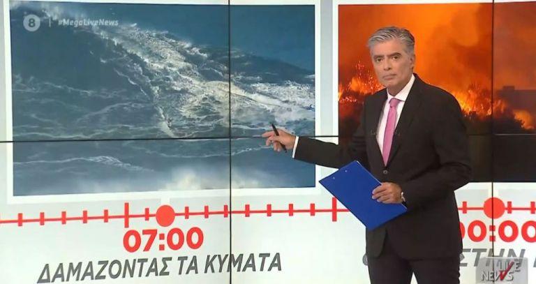 Mega : Πρωτιά στην τηλεθέαση για το Live News με τον Νίκο Ευαγγελάτο [πίνακες] | tovima.gr