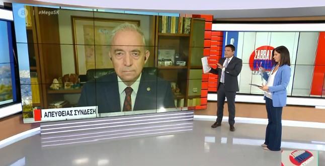 Λέκκας στο MEGA για Ιανό: Τα φαινόμενα δεν είχαν την αναμενόμενη ένταση – Χρειάζεται λίγη προσοχή ακόμα | tovima.gr