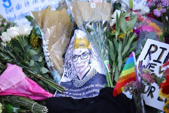 Οι ΗΠΑ αποχαιρετούν  τη Ρουθ Μπέιντερ Γκίνσμπεργκ | tovima.gr