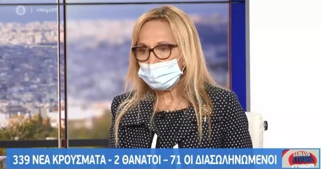 Ανεμοδουρά στο MEGA: Θεωρώ ότι στην Αττική τα μέτρα έπρεπε να είναι πιο αυστηρά | tovima.gr