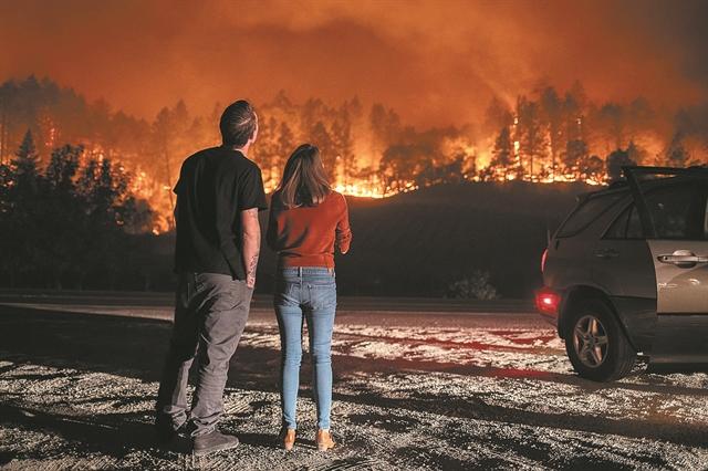 Η κλιματική αλλαγή έκαψε την Καλιφόρνια | tovima.gr