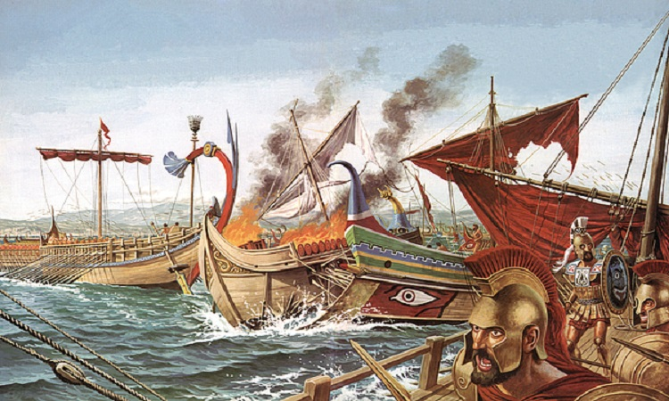 Ναυμαχία Σαλαμίνας : Πώς οι αρχαίοι Αθηναίοι εκμεταλλεύθηκαν τους ανέμους για να κατατροπώσουν τους Πέρσες   tovima.gr