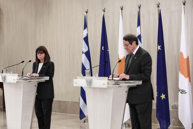 Σακελλαροπούλου: Κορυφαία θέση το Κυπριακό στην εθνική μας πολιτική | tovima.gr