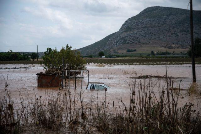 Ιανός : Λίμνη έγιναν 200.000 στρέμματα στη Θεσσαλία | tovima.gr