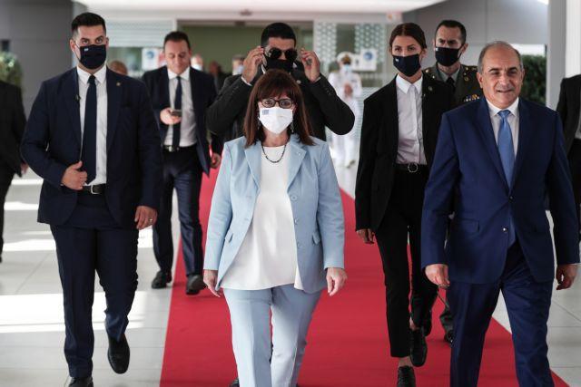 Σακελλαροπούλου: Να αγωνιστούμε για τον τερματισμό της τουρκικής κατοχής | tovima.gr