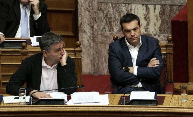 Ο Τσίπρας απειλεί με κυρώσεις τον Τσακαλώτο   tovima.gr