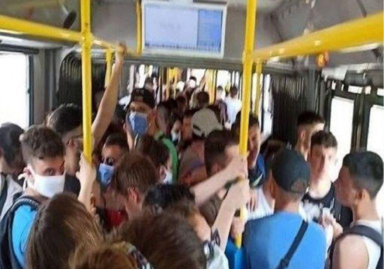 Το MEGA στα ΜΜΜ: Καθημερινός συνωστισμός σε στάσεις και λεωφορεία | tovima.gr