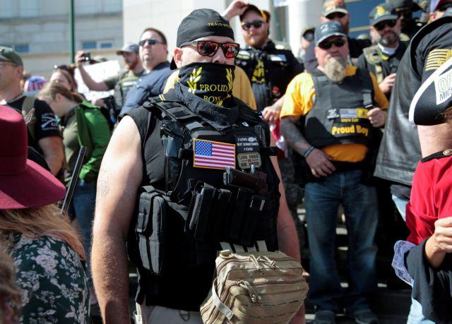 ΗΠΑ : Σε κατάσταση έκτακτης ανάγκης το Πόρτλαντ, λόγω συγκέντρωσης ακροδεξιών   tovima.gr