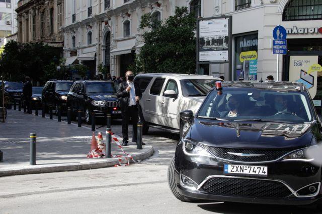 Ολοκληρώθηκε η επίσκεψη Πομπέο στη Θεσσαλονίκη – Αναχώρησε για Χανιά | tovima.gr